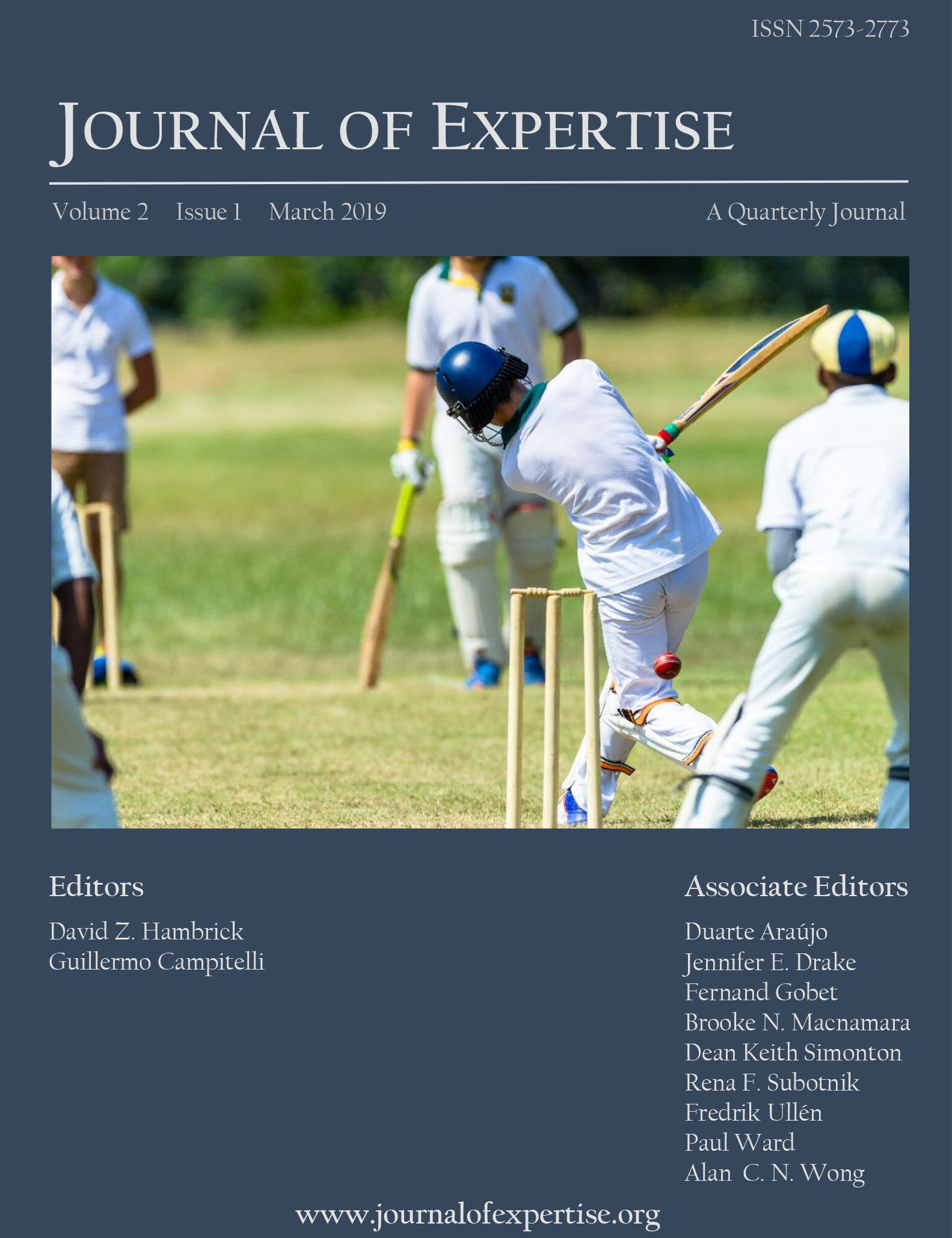 Journal of Expertise Volume 2 Issue 1